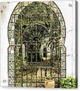 Arabian Door Acrylic Print by Stefano Piccini