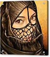 Arabian Girl Acrylic Print