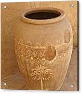 Arabian Pottery Acrylic Print