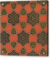 Arabic Decorative Design Acrylic Print