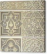 Arabic Tile Designs  Acrylic Print