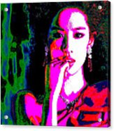 Aradhana Punyavarman Istri Devi Kaushalya Acrylic Print by Ricky Nathaniel