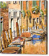 Arancio Sul Canale Acrylic Print