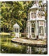 Aranjuez Park Lake Acrylic Print