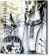 Arapaho Cheyenne Acrylic Print