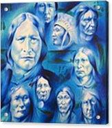 Arapaho Leaders Acrylic Print