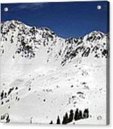 Arapahoe Basin Ski Resort - Colorado          Acrylic Print