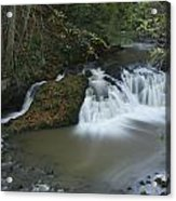 Arbirlot Waterfall Arbroath Acrylic Print