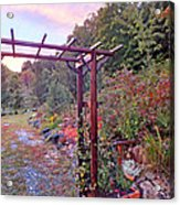 Arbor And Fall Colors 2 Acrylic Print