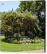 Arbor At Historical Park Acrylic Print