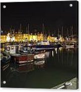 Arbroath Harbour Acrylic Print