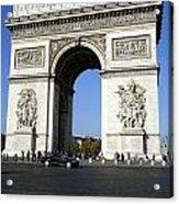 Arc De Triomphe In Paris France Acrylic Print