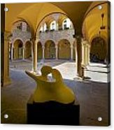 Arcade In Bellinzona Acrylic Print