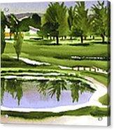Arcadia Valley Country Club Dramatic Acrylic Print