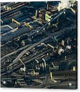 Arcelormittal Dofasco In Winter Acrylic Print