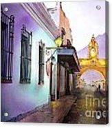 Arch- Antigua Acrylic Print