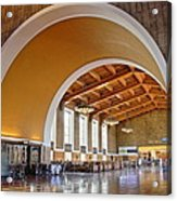 Arch At La Union Station Acrylic Print