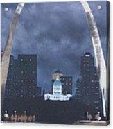 Arch At Night Acrylic Print