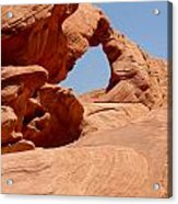 Arch At Valley Of Fire State Park Acrylic Print