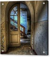 Arch Door Acrylic Print