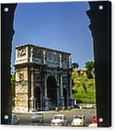 Arch Of Constantine Acrylic Print