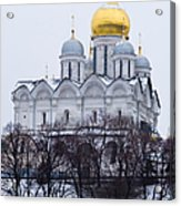 Archangel Cathedral Of Moscow Kremlin - Featured 3 Acrylic Print