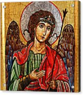 Archangel Michael Icon Acrylic Print