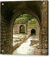Arched Entrance To Fiesole Theatre Acrylic Print