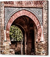 Arched  Gate Acrylic Print