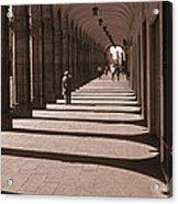 Arched Walk Way       Acrylic Print