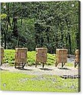 Archery Range Acrylic Print