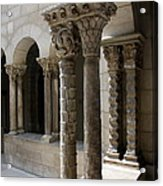 Arches And Columns - Cloister Nyc Acrylic Print