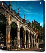 Arches And Statues Acrylic Print