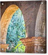 Arches At Mission San Juan Capistrano Acrylic Print
