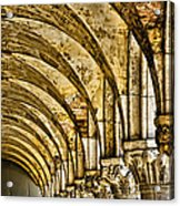 Arches At St Marks - Venice Acrylic Print
