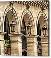 Arches In A Row  Acrylic Print