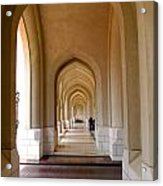 Arches In An Arab Palace  Acrylic Print