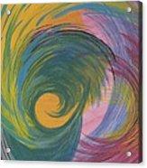 Arches  Swirls Acrylic Print