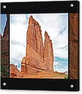 Arches National Park Panel Acrylic Print