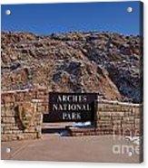 Arches National Park Utah Acrylic Print
