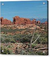 Arches North Window Rock Acrylic Print