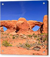 Arches Windows Acrylic Print