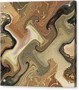 Architechtonic Analysis Of Cortex Detail Acrylic Print