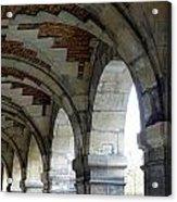 Architectural Artwork At Place De Vosges Acrylic Print