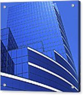 Architectural Blues Acrylic Print