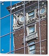 Architectural Juxtaposition Acrylic Print