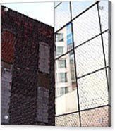 Architectural Juxtaposition On The High Line Acrylic Print