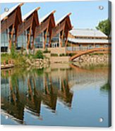Architectural Reflections Acrylic Print