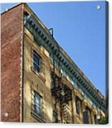 Architectural Watercolor Effect Acrylic Print