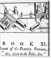 Architecture, 1772 Acrylic Print